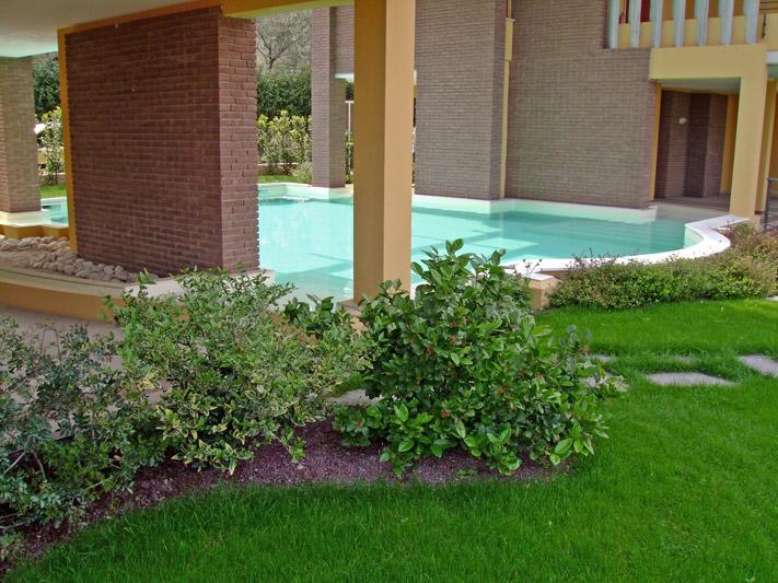 Finest giardino per abitazione privata with progetti - Progetti giardino per villette ...